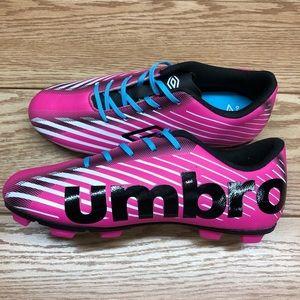 Umbro Girls Arturo 2.0 Pink Soccer Cleats